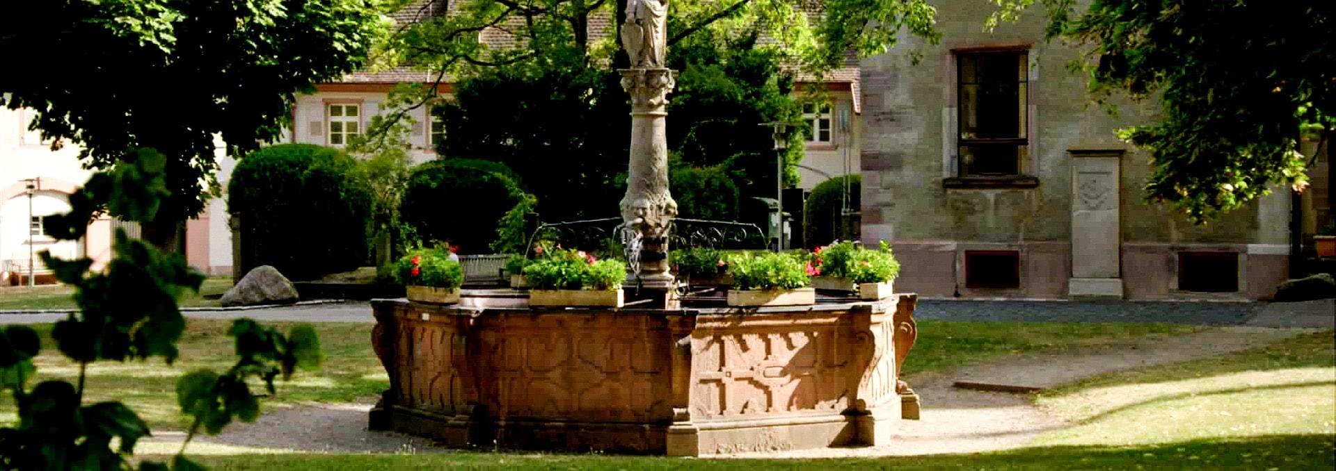 Brunnen im Innenhof des Klosters