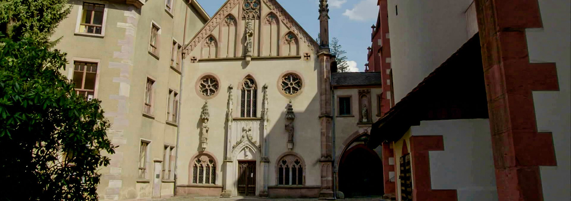 Fassade der Fürstenkapelle